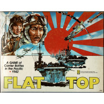 Flat Top - A Game of Carrier Battles in the Pacific 1942 (wargame d'Avalon Hill en VO) 001