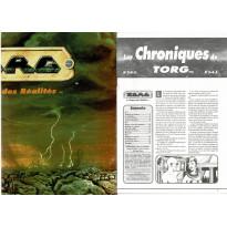 Torg La Guerre des Réalités - L'écran de jeu & Les Chroniques de Torg 3-4-5 (jdr Jeux Descartes en VF)