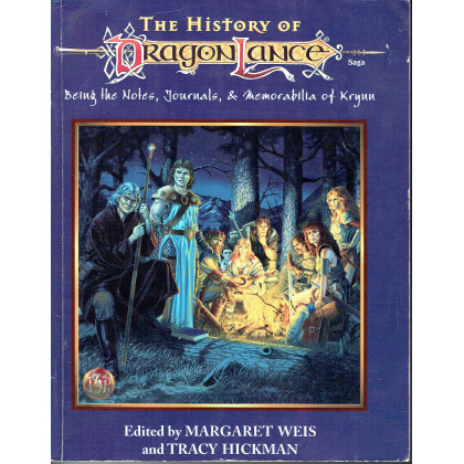 The History of Dragonlance (jdr AD&D 2e édition en VO) 001