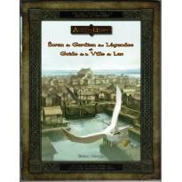 Ecran du Gardien des Légendes et Guide de la Ville du Lac (jdr L'Anneau Unique en VF)