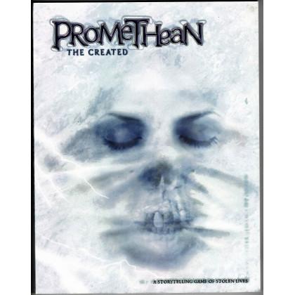 Promethean The Created - Couverture souple (jdr Le Monde des Ténèbres en VO) 002