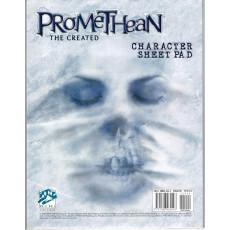 Promethean The Created - Character Sheet Pad (jdr Le Monde des Ténèbres en VO)