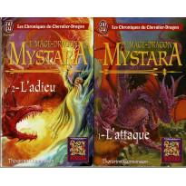 Mystara - Lot 2 romans Le Mage-Dragon de Mystara (livres jdr de TSR en VF)