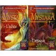 Mystara - Lot 2 romans Le Mage-Dragon de Mystara (livres jdr de TSR en VF) L107