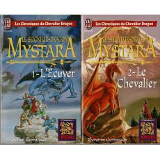 Mystara - Lot 2 romans Le Seigneur-Dragon de Mystara (livres jdr de TSR en VF)