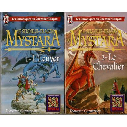 Mystara - Lot 2 romans Le Seigneur-Dragon de Mystara (livres jdr de TSR en VF) L108