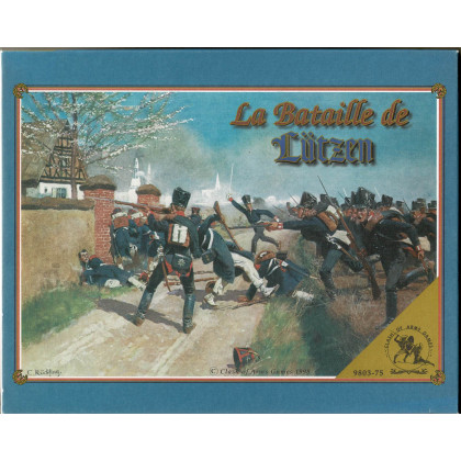 La Bataille de Lützen 1813 - Volume No. X (wargame Clash of Arms en VO) 002