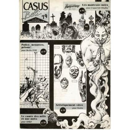 Casus Belli N° 79 - Encart de scénarios (1er magazine des jeux de simulation) 001