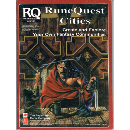 Runequest Cities (rpg Runequest d'Avalon Hill et Chaosium en VO) 001