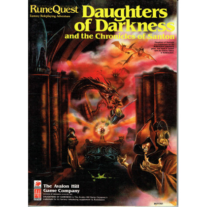 Daughters of Darkness and the Chronicles of Santon (rpg Runequest en VO) 001