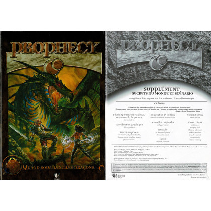 Prophecy - Livre de base 1ère édition + Ecran & livret V2 (jdr Halloween Concept en VF) L109
