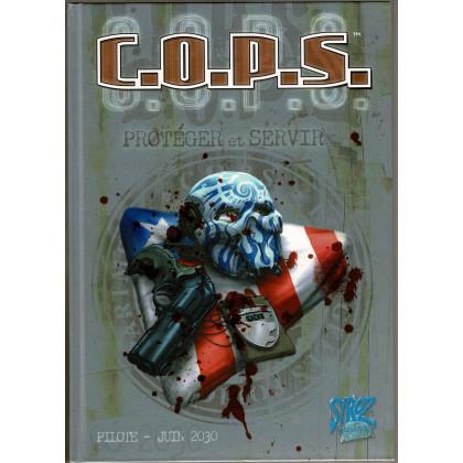 C.O.P.S. - Pilote - Juin 2030 (Livre de base jdr 1ère édition en VF) 006