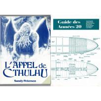 L'Appel de Cthulhu - 2 livret de Base (jdr 1ère édition Jeux Descartes en VF)