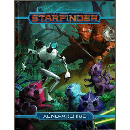 Xéno-Archive (jdr Starfinder de Blackbook éditions en VF) 001