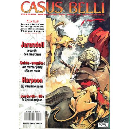 Casus Belli N° 58 (premier magazine des jeux de simulation) 009