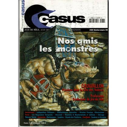 Casus Belli N° 36 (magazine de jeux de rôle 2e édition) 004