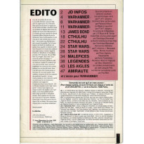 Jeux Descartes Plus Volume 5 - Spécial Warhammer jdr (magazine Jeux Descartes en VF)