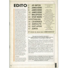 Jeux Descartes Plus Volume 4 - Spécial James Bond 007 (magazine Jeux Descartes en VF)