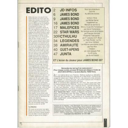 Jeux Descartes Plus Volume 4 - Spécial James Bond 007 (magazine Jeux Descartes en VF) 005