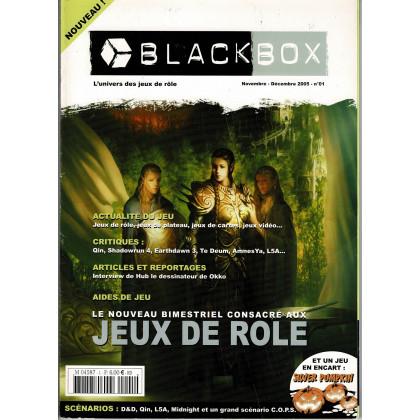 BlackBox N° 1 (revue sur l'univers des jeux de rôle) 002