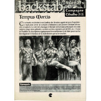 Backstab N° 25 - Encart de scénarios (le magazine des jeux de rôles)