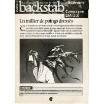 Backstab N° 37 - Encart de scénarios (le magazine des jeux de rôles)
