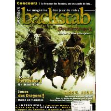 Backstab N° 36 (le magazine des jeux de rôles)