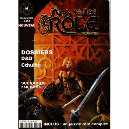 Jeu de Rôle Magazine N° 1 (revue de jeux de rôles) 006