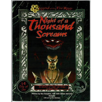 Night of a Thousand Screams (jdr Legend of the Five Rings 1ère édition en VO) 001