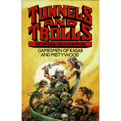 Gamesmen of Kasar and Mistywood (jdr Tunnels & Trolls Corgi en VO) 001