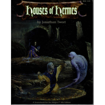 Houses of Hermes (jdr Ars Magica 4e édition en VO) 001