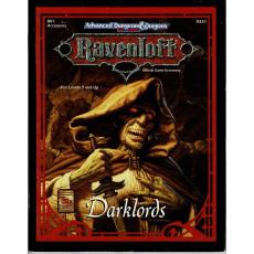 Ravenloft - RR1 Darklords (jeu de rôle AD&D 2e édition en VO)