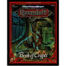 Ravenloft - RR2 Book of Crypts (jeu de rôle AD&D 2e édition en VO)