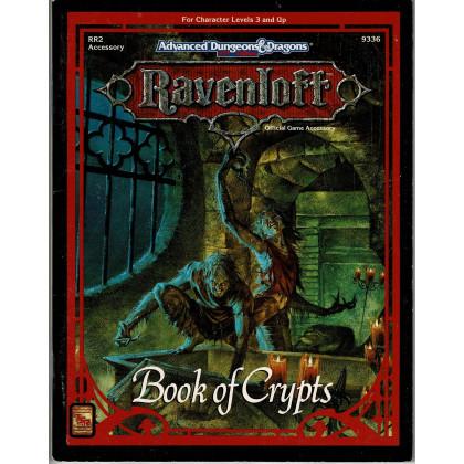 Ravenloft - RR2 Book of Crypts (jeu de rôle AD&D 2e édition en VO) 002