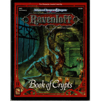 Ravenloft - RR2 Book of Crypts (jeu de rôle AD&D 2e édition en VO)
