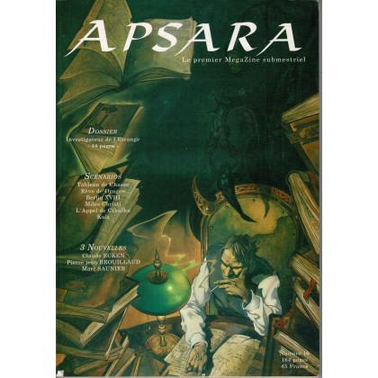 Apsara N° 16 (fanzine de jeux de rôle en VF) 001