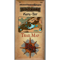 TM5 Kara-Tur Trail Map (jdr AD&D 2nd édition - Forgotten Realms en VO)