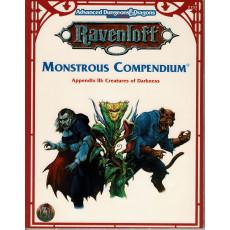 Monstrous Compendium - Appendix III Creatures of Darkness (jdr AD&D 2e édition - Ravenloft n VO)