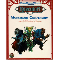 Monstrous Compendium - Appendix III Creatures of Darkness (jdr AD&D 2e édition - Ravenloft n VO)