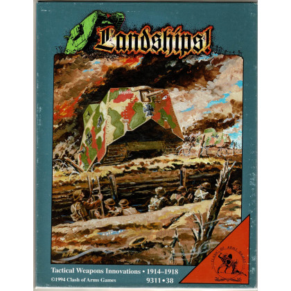 Landships ! - Tactical Weapons Innovations 1914-1918  (wargame Clash of Arms en VO) 002