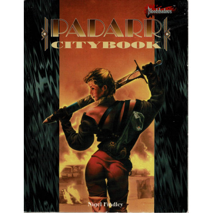 Padarr Citybook (jdr Bloodshadows en VO) 002
