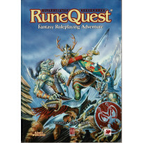 Runequest - Fantasy RolePlaying Adventure (Livre de base jdr Third Edition en VO)
