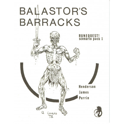 Balastor's Barracks (jdr Runequest Second Edition de Chaosium en VO) 001