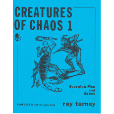 Creatures of Chaos 1 (jdr Runequest 2nd Edition de Chaosium en VO)