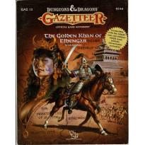 GAZ12 The Golden Khan of Ethengar (jdr D&D Gazetteer - Mystara 1ère édition en VO) 002