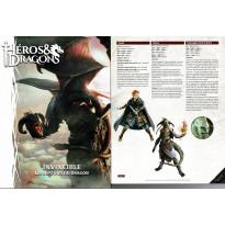 Invincible - Les Sept Vies du Dragon + accessoire souscription (jdr Héros & Dragons de BBE en VF)