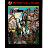 Destiny of Kings (jdr AD&D 2e édition révisée en VO)