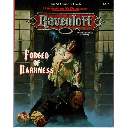 Forged of Darkness (jdr AD&D 2nd edition - Ravenloft en VO) 001