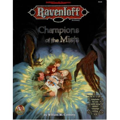 Champions of the Mists (jdr AD&D 2nd edition - Ravenloft en VO) 001