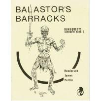 Balastor's Barracks (jdr Runequest Second Edition de Chaosium en VO) 002